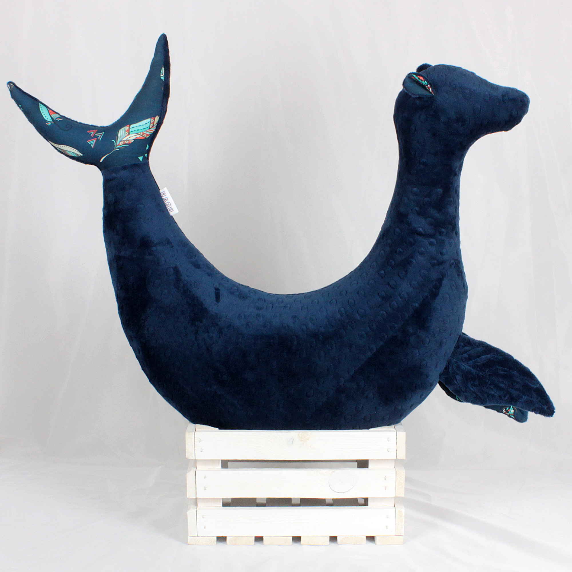 poduszka rogal foka