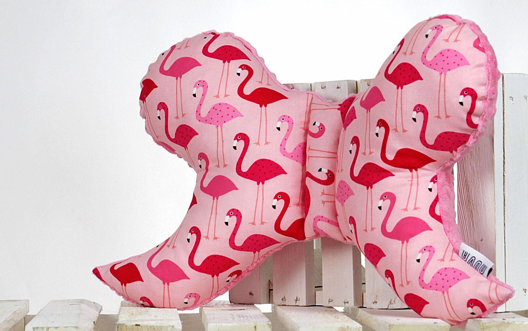 poduszka motyl Flamingi