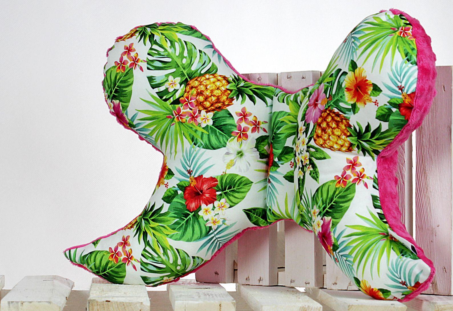 poduszka motylek tropical