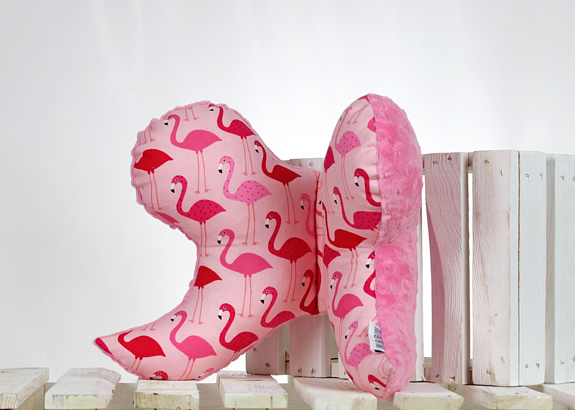 poduszka do wózka Flamingi