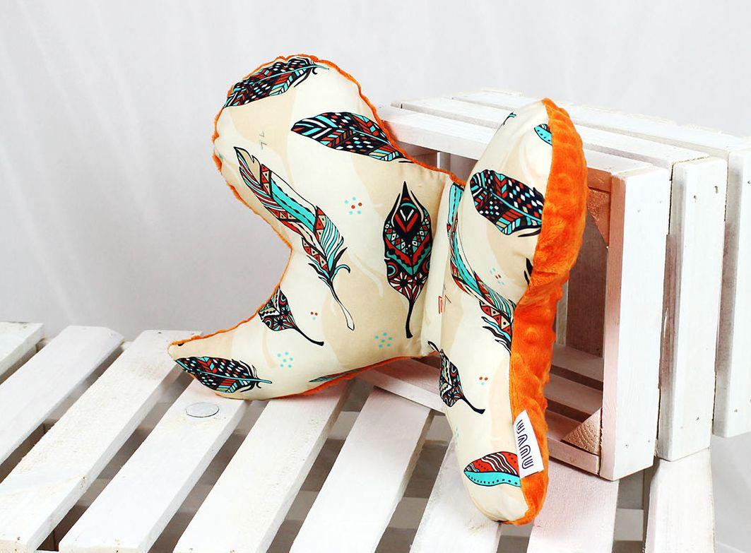 poduszka dla niemowlaka pomarańcz