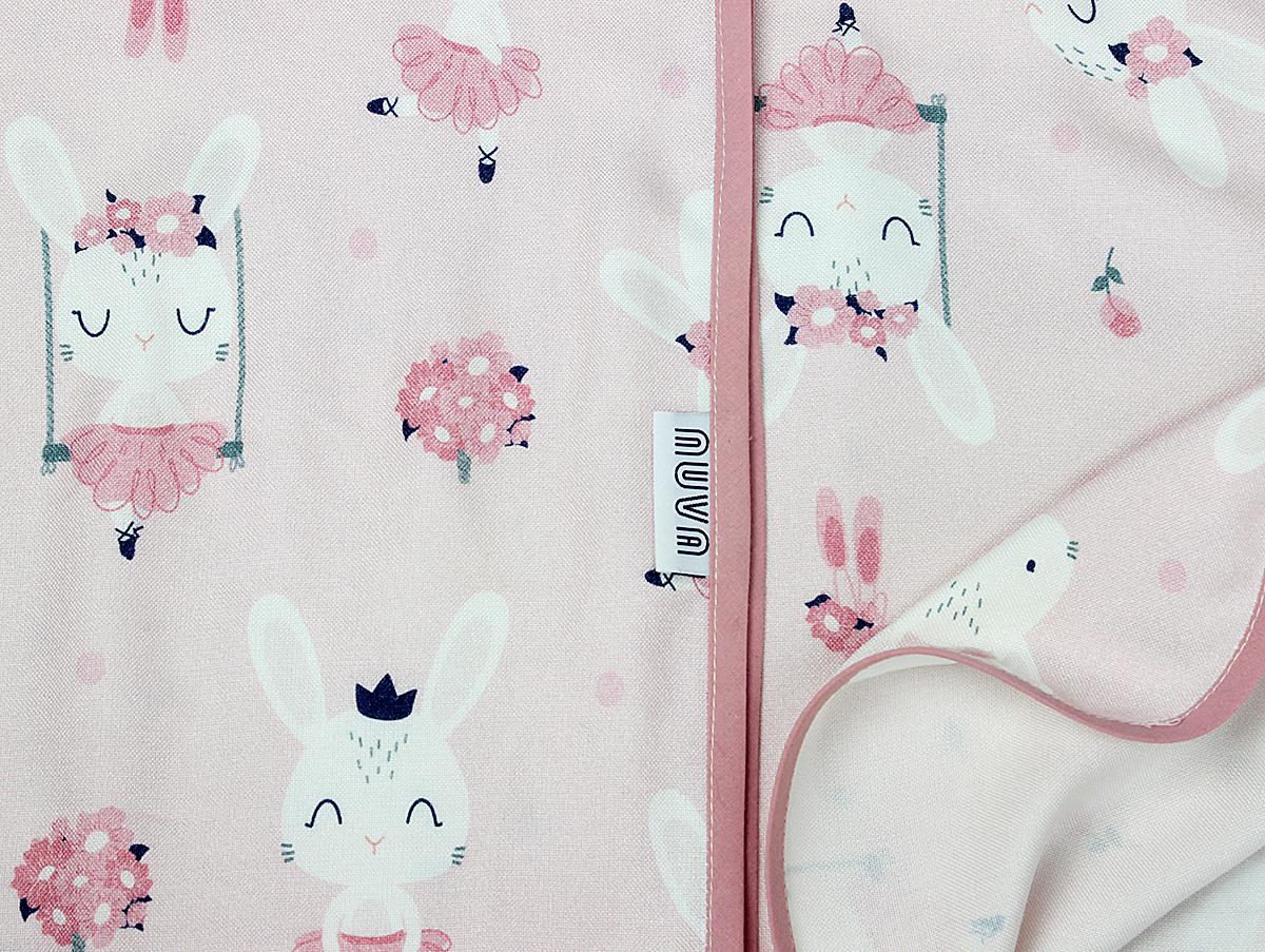 bambus królik balerina róż