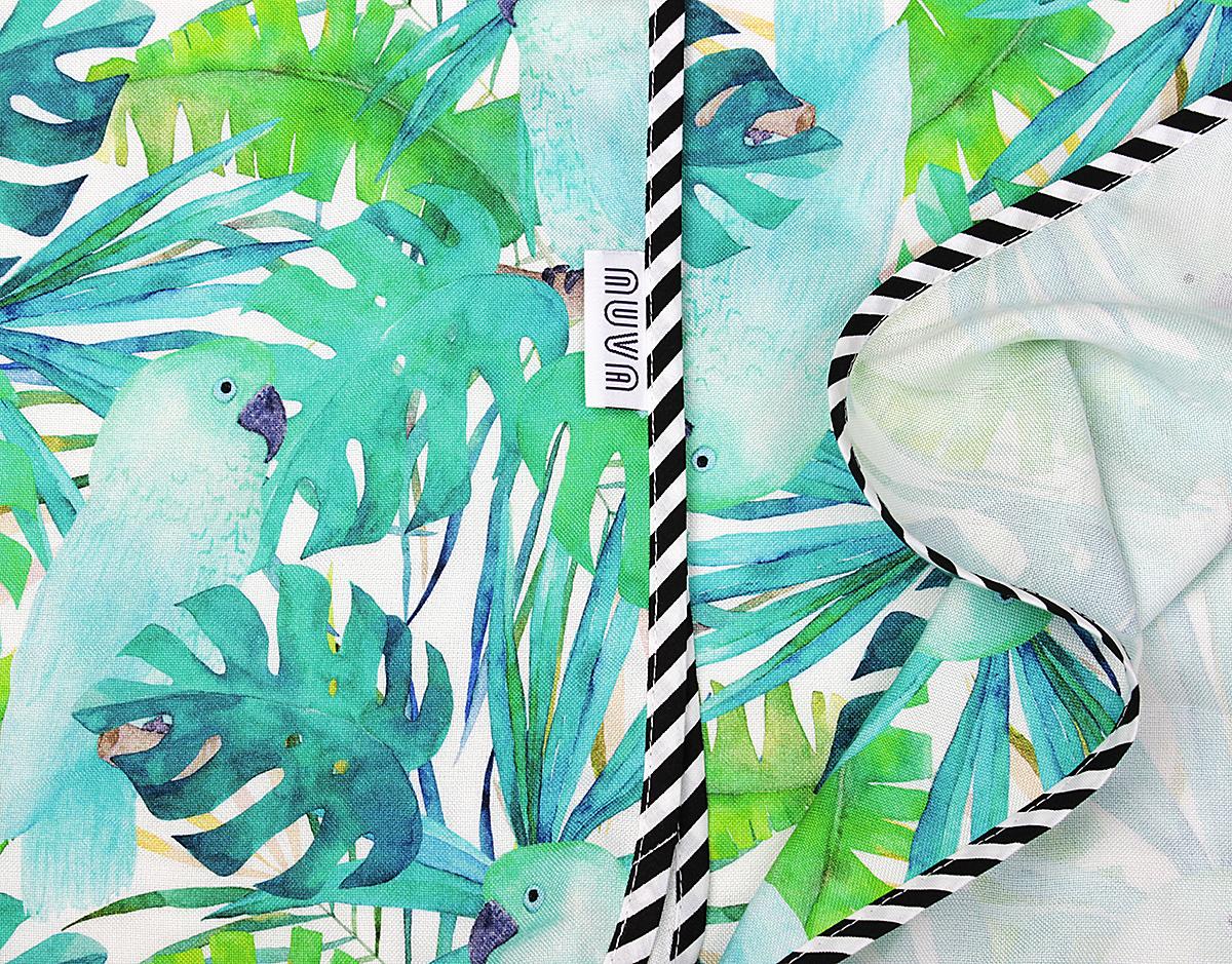 bambus papugi niebieskie