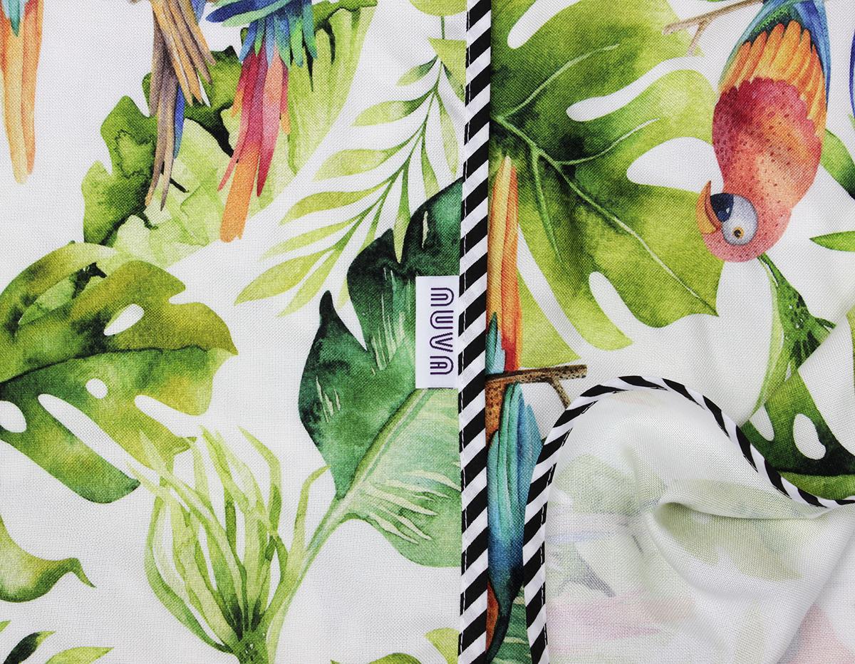 kocyk bambusowy papugi