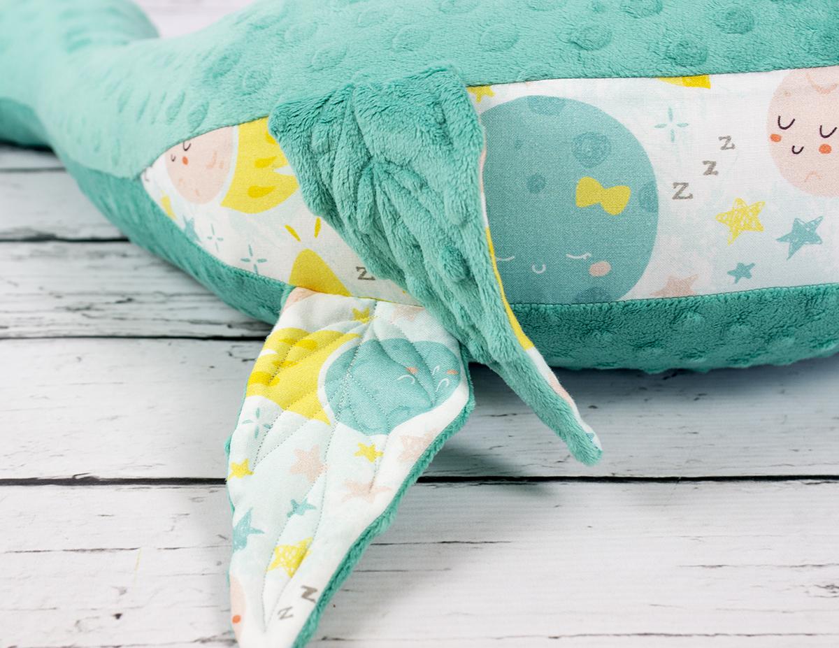 foka poduszka dla dzieci