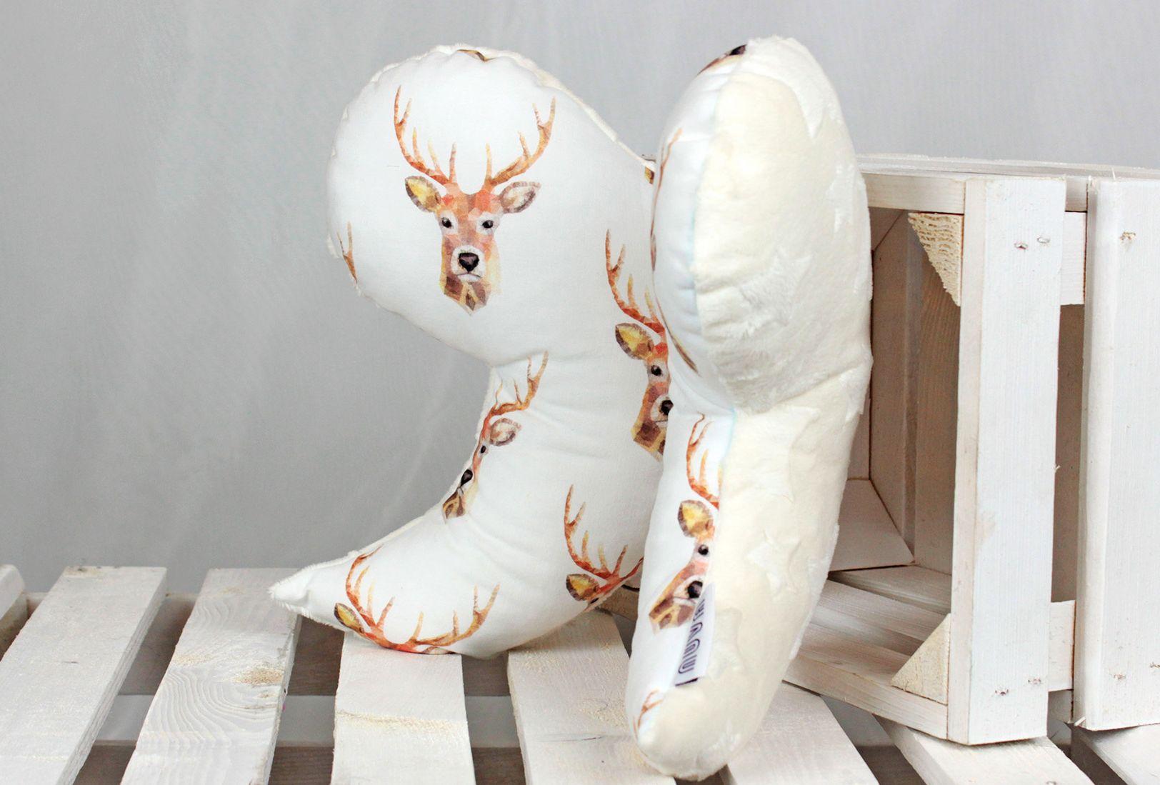 poduszka dla niemowlaka jeleń