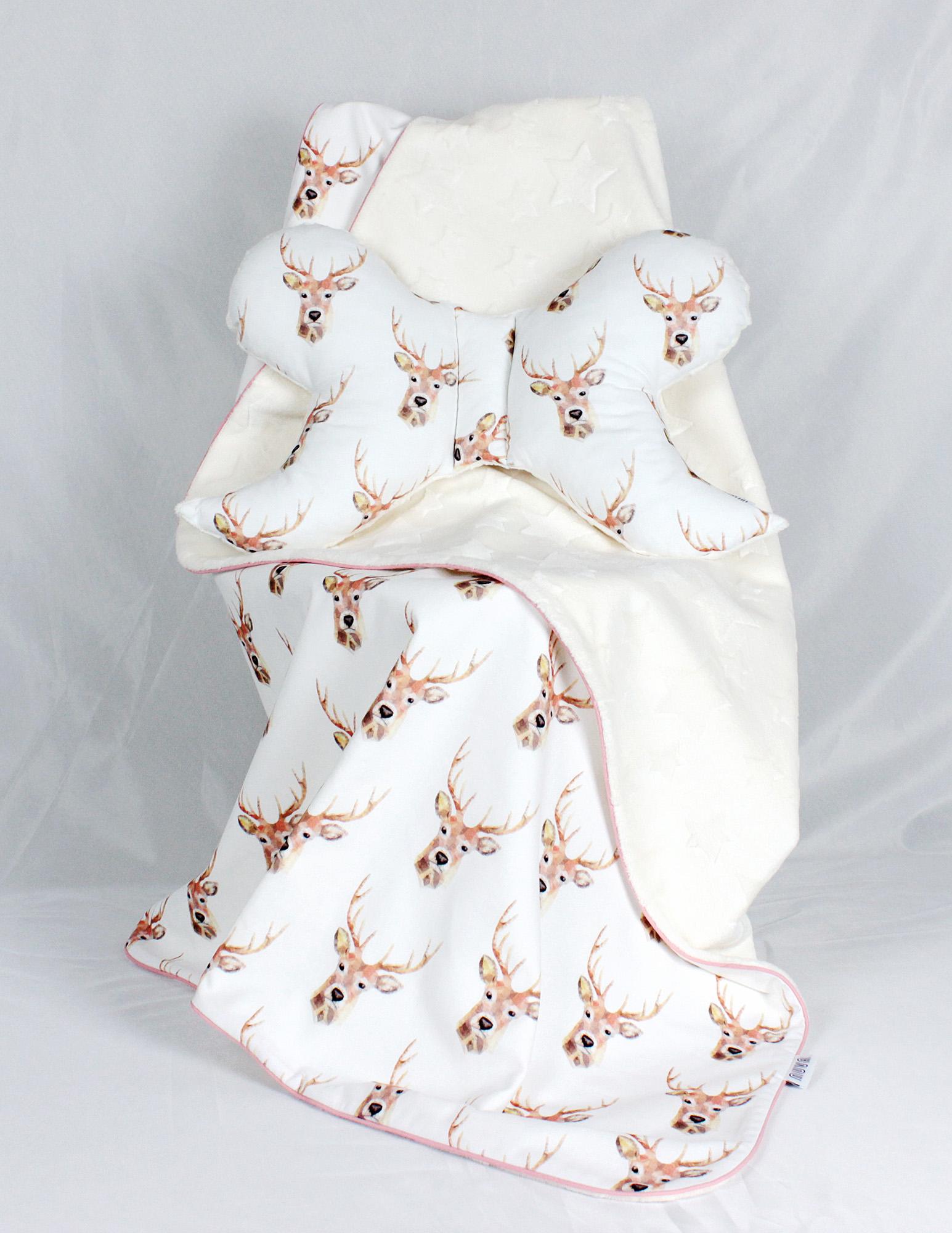 poduszka niemowlaka jeleń