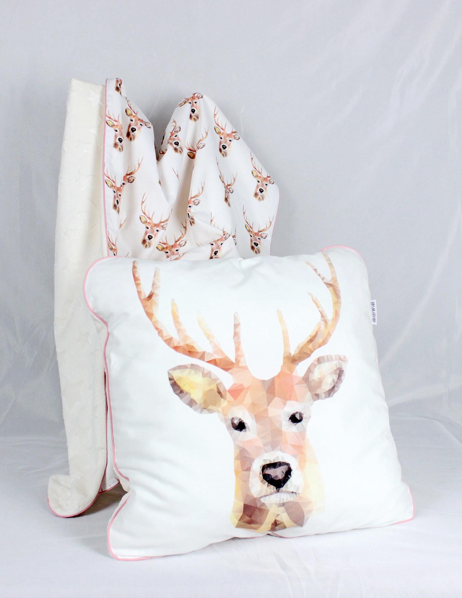 poduszka dla chłopca jeleń