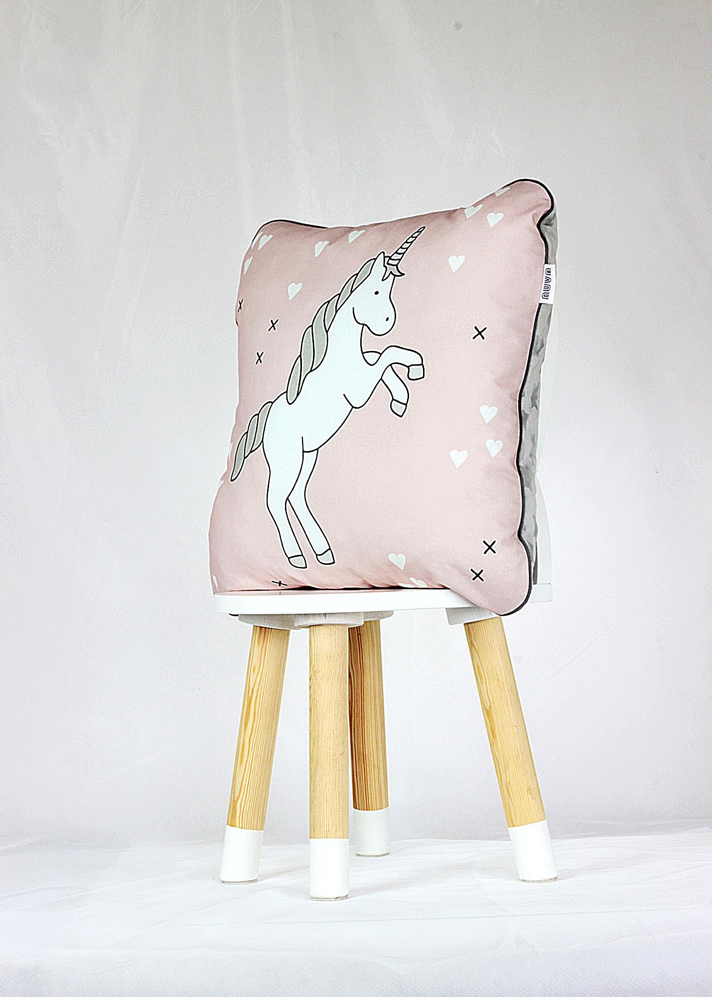 poduszka dla dzieci jednorożec