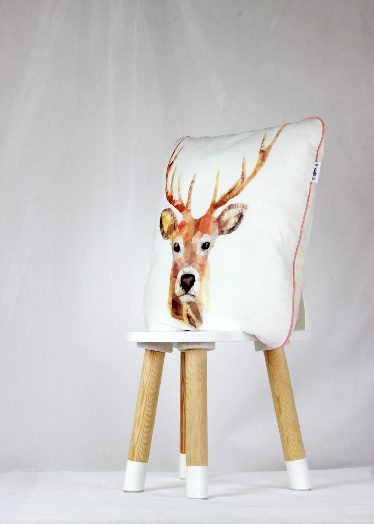 poduszka dla dziecka jeleń