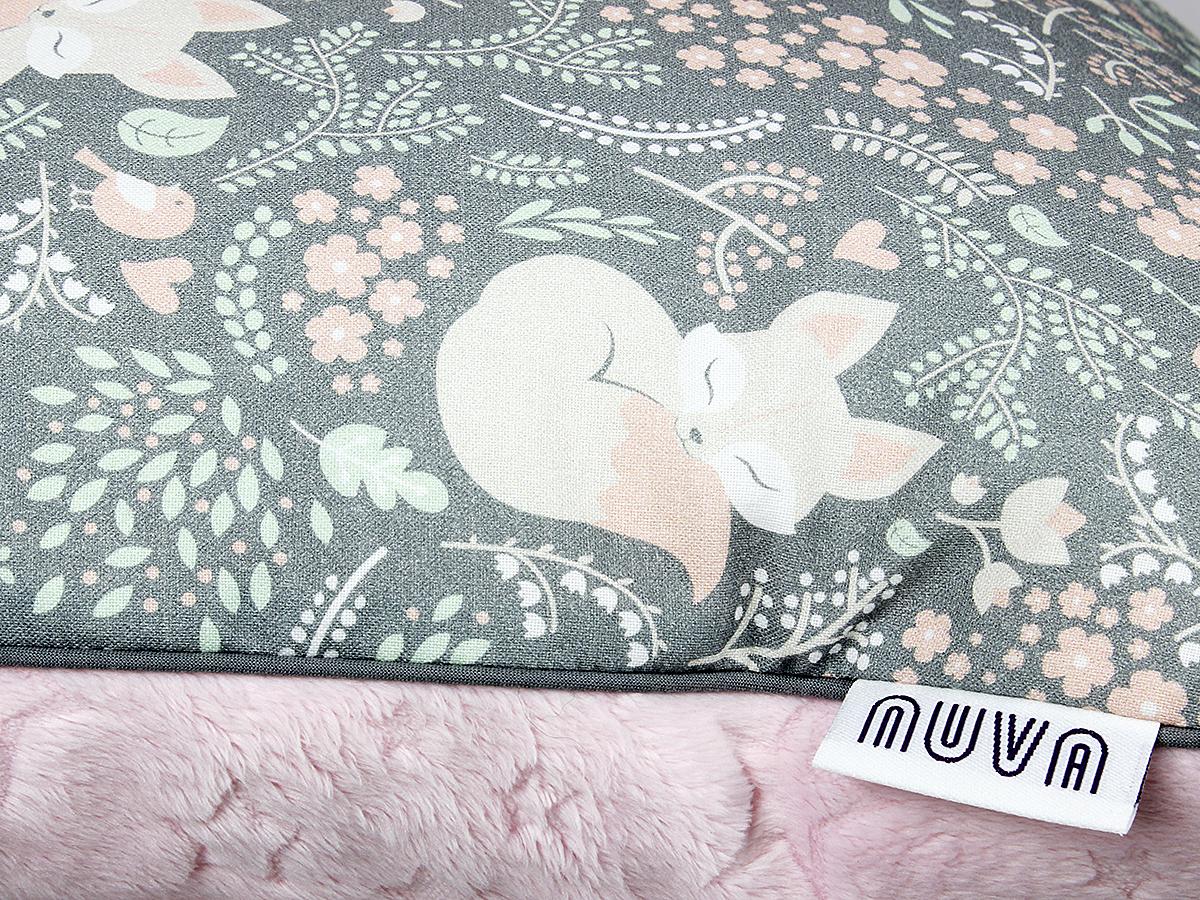 poduszka do łóżeczka lis