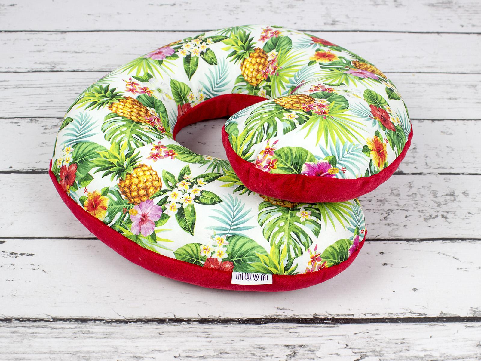 poduszka podróżna ananasy