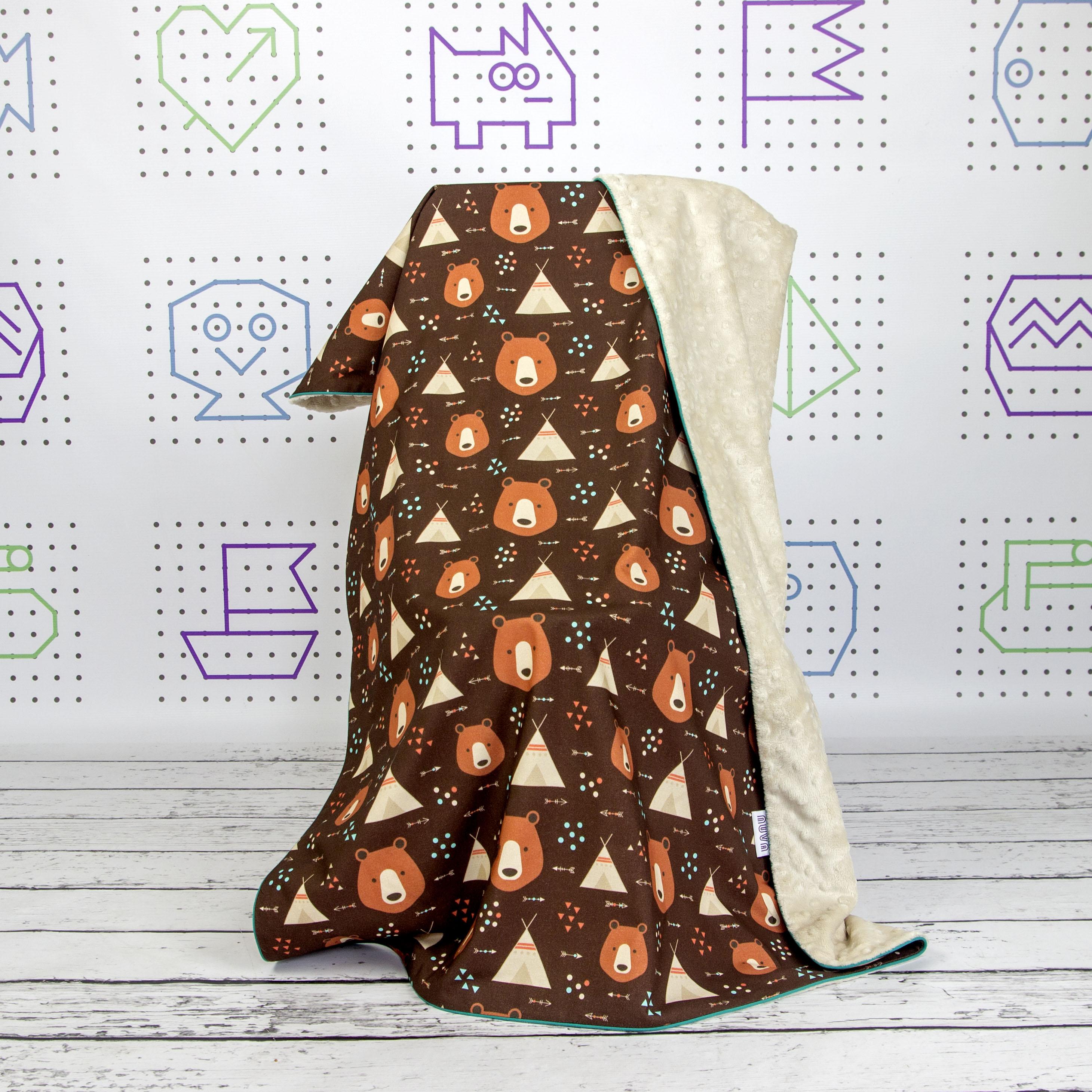 Handmade Minky Blanket