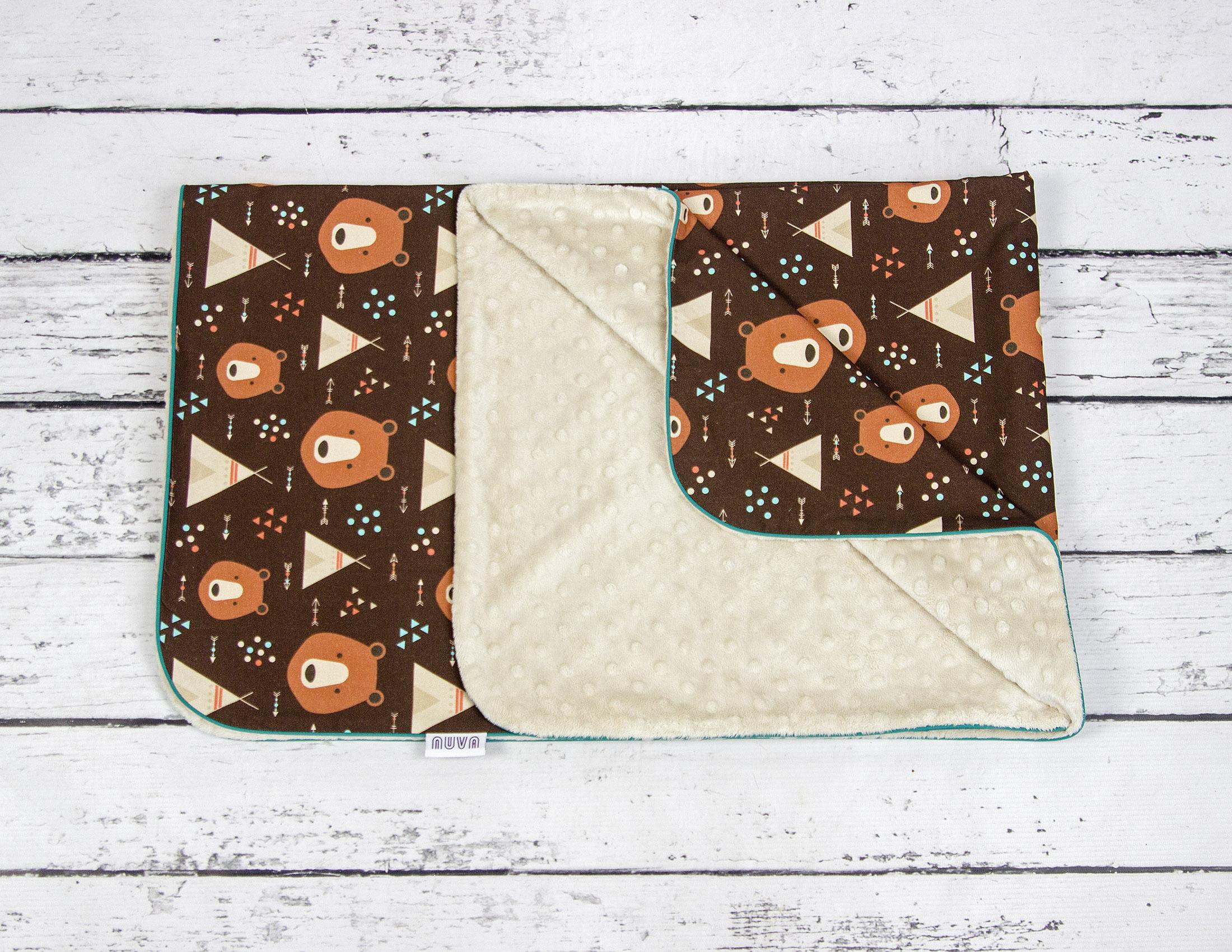 Teepee Bear Blanket