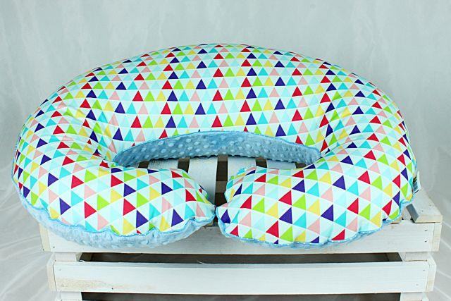 poduszka do karmienia trójkąty